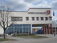 [瑞典院校] Örebro University 厄勒布鲁大学