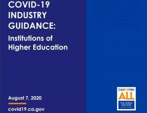 加州公共卫生部最新发布大学开学指南!开学计划又要变?